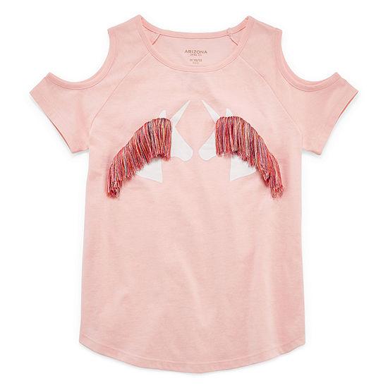 Arizona Girls Short Sleeve  graphic T-shirt