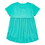 Xersion Graphic Textured Top - Girls 4-16 & Plus