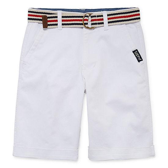 U.S. Polo Assn. Chino Shorts - Big Kid Boys