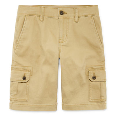 Arizona Boys Stretch Adjustable Waist Cargo Short Preschool / Big Kid