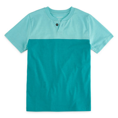 Arizona Boys Short Sleeve Henley Shirt