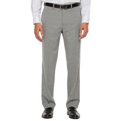 Collection by Michael Strahan  Striped Classic Fit Stretch Suit Pants