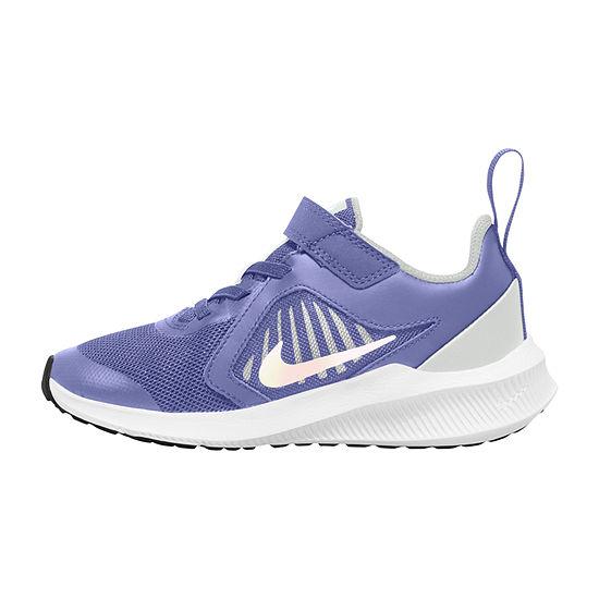 Nike Downshifter 10 Little Kids Girls Running Shoes