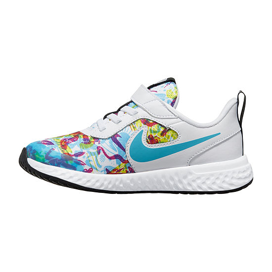 Nike Revolution 5 Fable Little Kids Girls Running Shoes