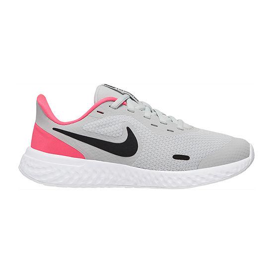 Nike Revolution 5 Big Kids Girls Running Shoes