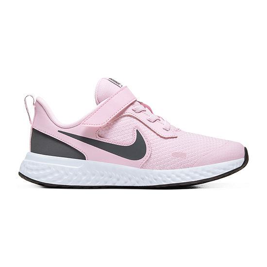 Nike Revolution 5 Ps Little Kids Girls Running Shoes