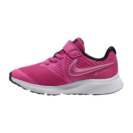 Nike Star Runner 2 Little Kids Girls Running Shoes