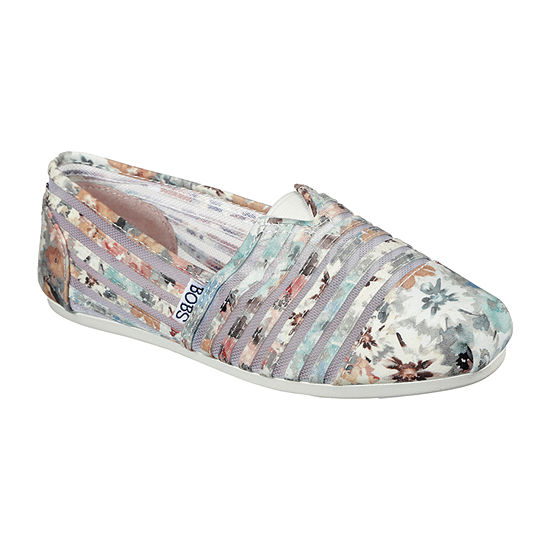 Skechers Bobs Womens Plush - Dreamin Daisy Closed Toe Slip-On Shoe