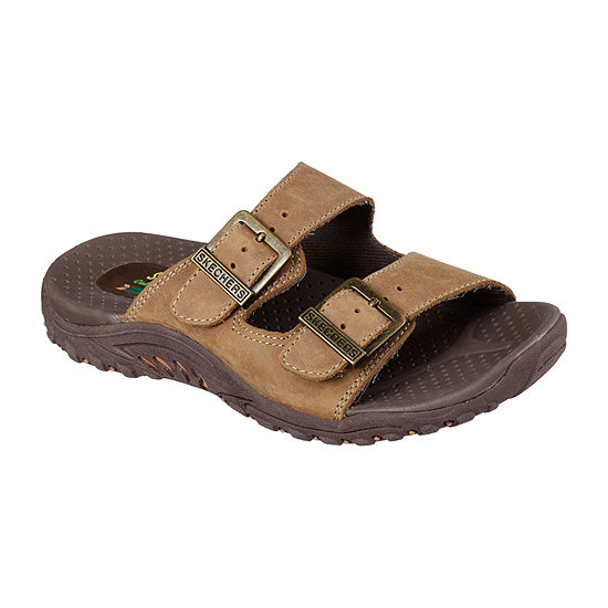 Skechers Reggae - Jammin Womens Adjustable Strap Footbed Sandals