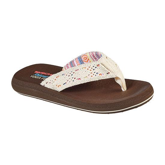 Skechers Womens Asana Flip-Flops
