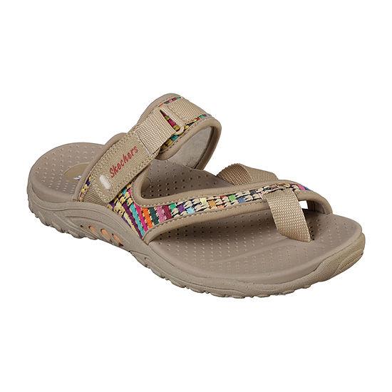 Skechers Reggae - Mad Swag Womens Adjustable Strap Footbed Sandals