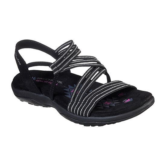 Skechers Reggae Slim - Stretch Slinky Womens Footbed Sandals