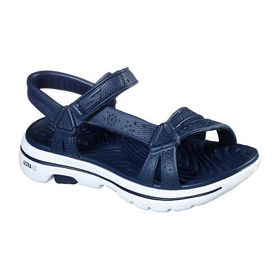 Skechers Go Walk 5 Cali Gear - Tahiti Womens Footbed Sandals