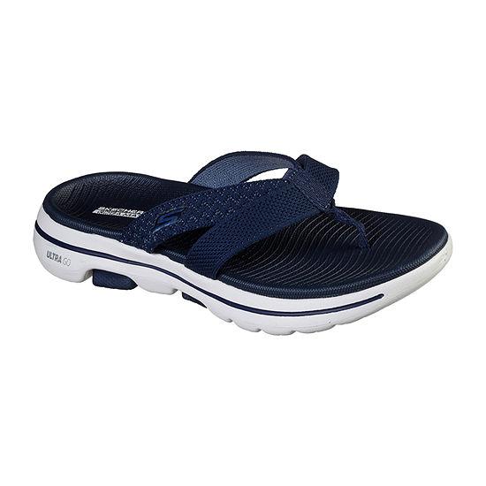 Skechers Go Walk 5 Sun Kiss Womens Footbed Sandals