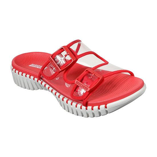 Skechers Go Walk Smart - Miami Womens Adjustable Strap Footbed Sandals