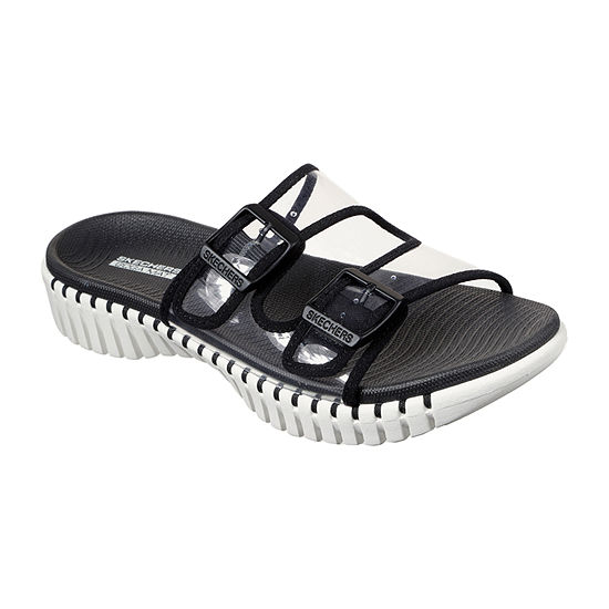 Skechers Go Walk Smart - Miami Womens Adjustable Strap Footbed Sandals