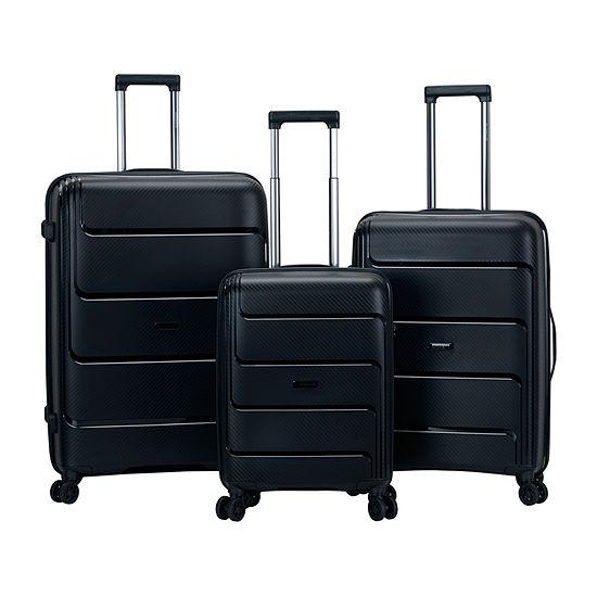 Rockland Aero 3-pc. Hardside Luggage Set