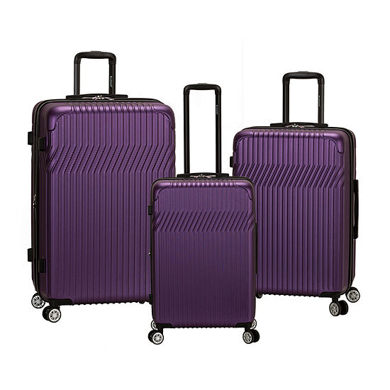 Rockland Pista Abs Non Expandable 3-pc. Hardside Lightweight Luggage Set