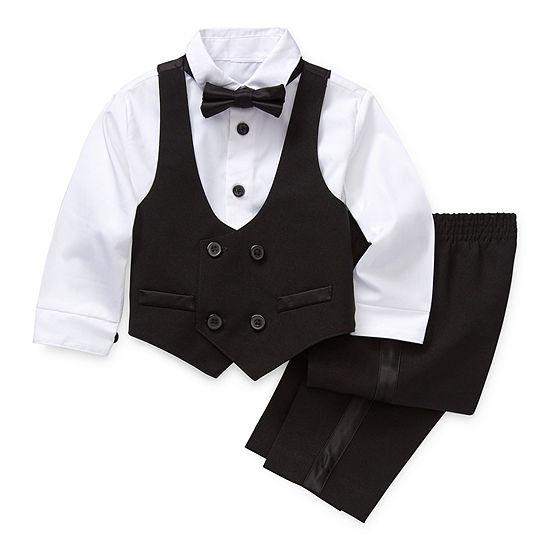 Van Heusen Boys 4-pc. Suit Set Baby
