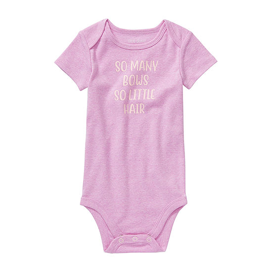 Okie Dokie Bows Baby Girls Bodysuit
