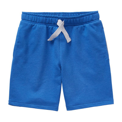 Okie Dokie Knit Toddler Boys Mid Rise Pull-On Short
