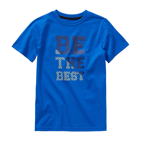 Xersion Boys Crew Neck Short Sleeve Graphic T-Shirt - Little Kid / Big Kid