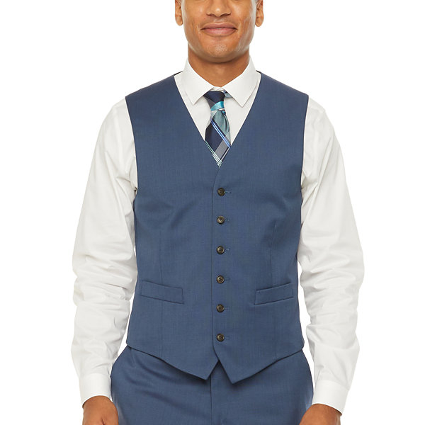 Stafford Super Stretch Classic Fit Suit Vest