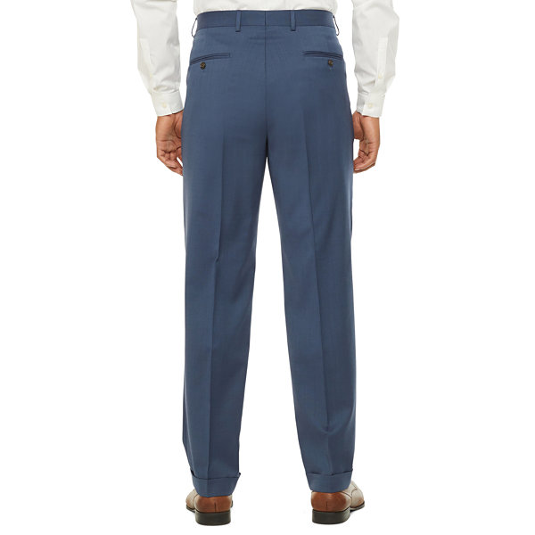 Stafford Super Classic Fit Stretch Suit Pants
