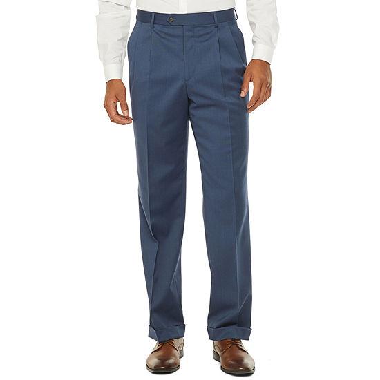 Stafford Super Classic Fit Stretch Suit Pants