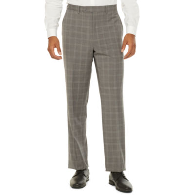 Collection by Michael Strahan  Mens Windowpane Stretch Classic Fit Suit Pants