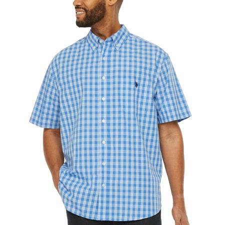 Us Polo Assn U S Polo Assn Mens Short Sleeve Button Down Shirt