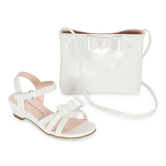 Christie & Jill Toddler Girls Lil Odette & Bag Heeled Sandals
