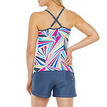 Free Country Geometric Tankini Swimsuit Top or Swimsuit Bottom