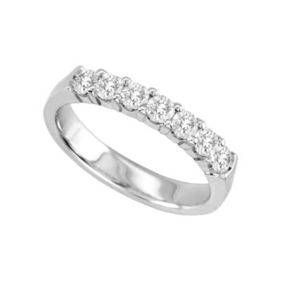 1/2 CT. T.W. Diamond Band 14K White Gold