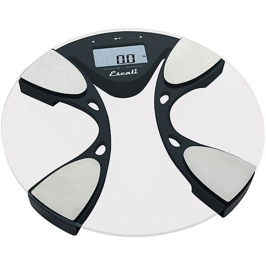 Escali® Body Fat & Body Water Bathroom Scale BFBW200
