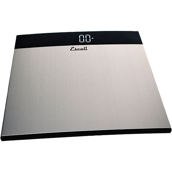 Escali® Ultra Slim Stainless Steel Body Weight Scale S200