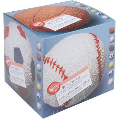 Wilton® Novelty 2-pc. Sports Ball Cake Pan