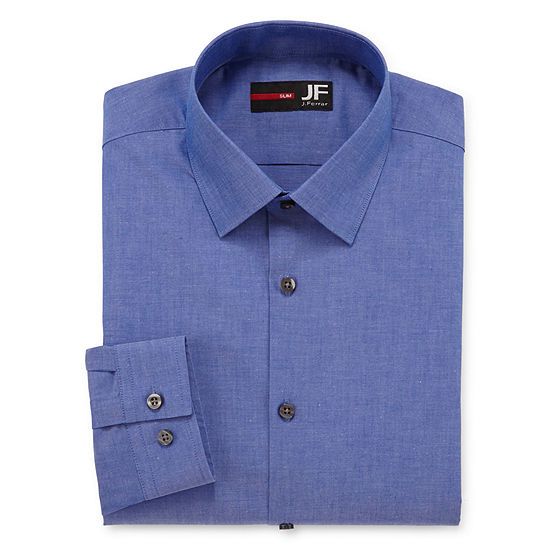 JF J. Ferrar® Slim Fit Long Sleeve Dress Shirt