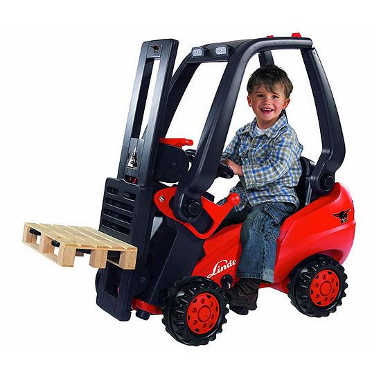 Big Linde Kids Pedal Forklift