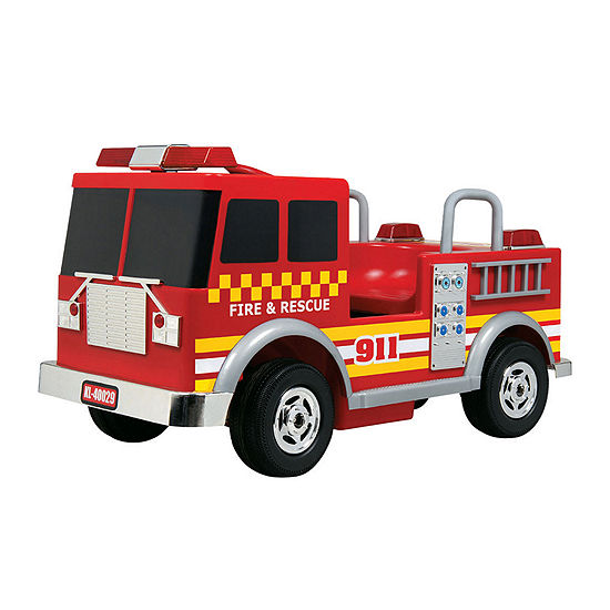 12V Fire Truck - Red