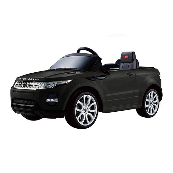Rastar Land Rover Evoque Remote Controlled 12v Battery Powered Ride On Car Black