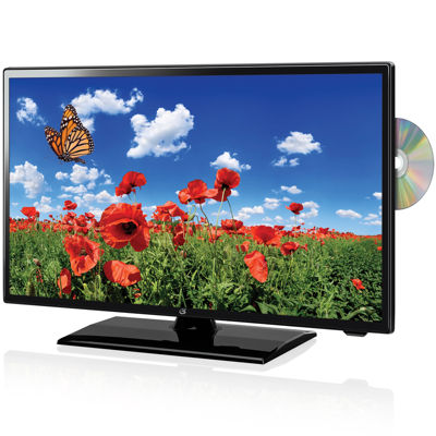 "GPX 22"" HDTV + Built-In DVD Player"