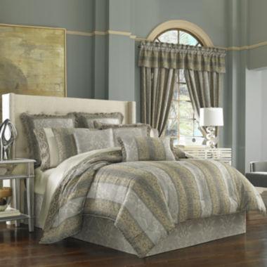 jcpenney.com   Queen Street® Harrington 4-pc. Comforter Set & Accessories