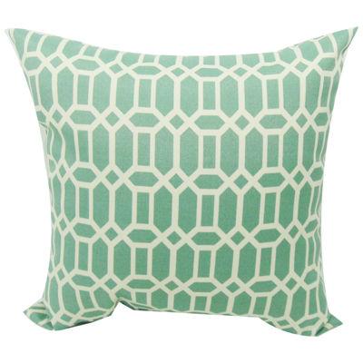 Rhodes Trellis Quartz Decorative Pillow
