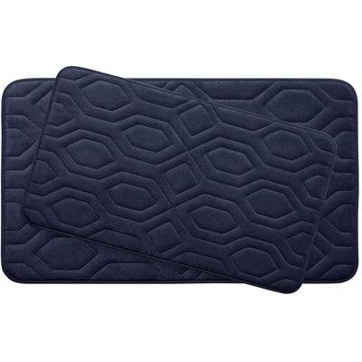 Bounce Comfort Turtle Memory Foam 2-pc. Bath Mat Set