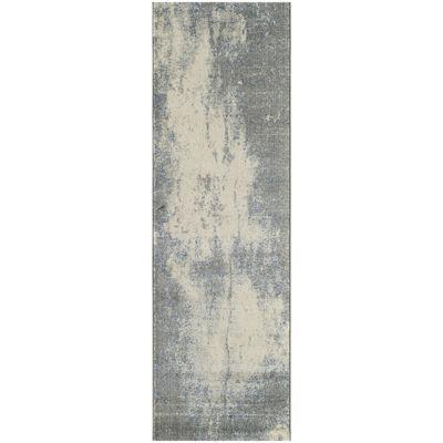Momeni® Loft Cracked Concrete Runner Rug