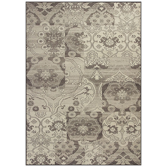 Brocade Rectangular Rug