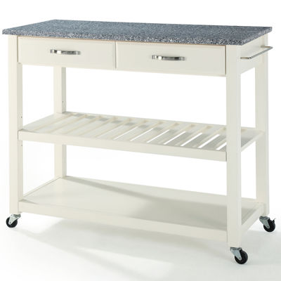 Geary Granite-Top Kitchen Island