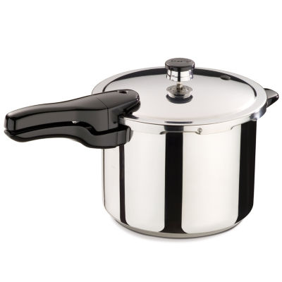 Presto® Stainless Steel Pressure Cooker + Tri-Metal Bottom