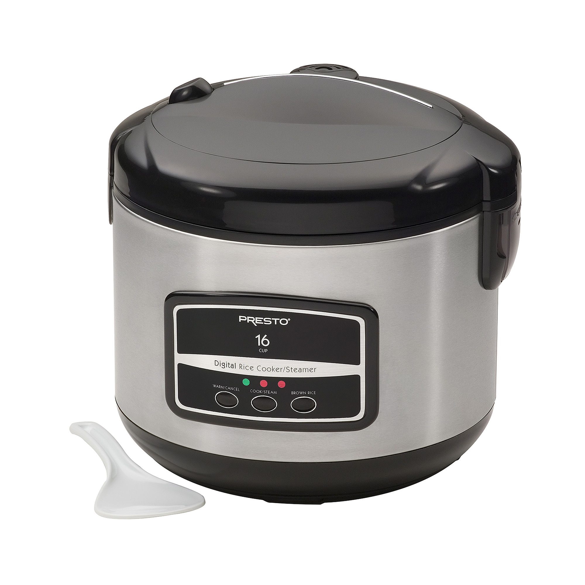 Presto 16-Cup Digital Rice Cooker & Steamer